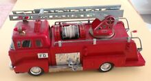 ford ladder fire engine w water