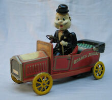 kosuge battery operated old time car
