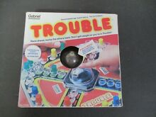 gabriel industries trouble pop o matic board game by
