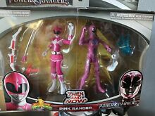 mighty morphin pink saban s power rangers action