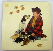 norman rockwell puzzle tender loving care norman rockwell