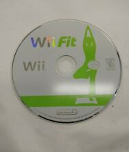 wii fit nintendo wii disc only tested free