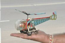alps litho colorful helicopter wind up