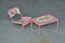 penny toy 2 pc table chair baby doll house