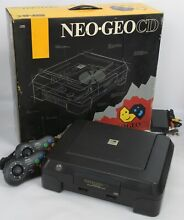 neo geo cd front loading console system snk