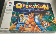 operation game mb games hasbro 1999