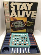 stay alive game board game 1971 stay alive milton