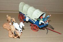 britains wild west covered wagon almost