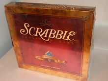 scrabble deluxe turntable new 50th