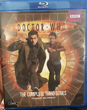 dr who doctor who complete third series