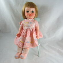 horsman ruthie 14 baby doll rooted blonde