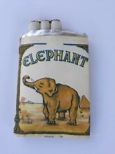 occupied japan trick toy cigarettes elephant
