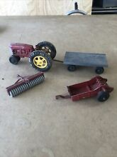 hubley toy tractor attachments