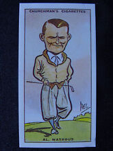 watrous no 44 al prominent golfers repro by