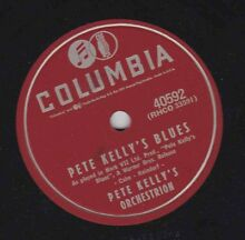 orchestrion pete kelly s 78 rpm columbia 40592