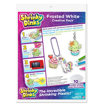 shrinky dinks frosted white creative pack