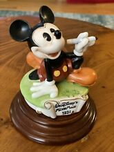 capodimonte disney laurenzo 1931 mickey mouse w pencil