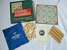 scrabble spears travel 1960 s 100 complete