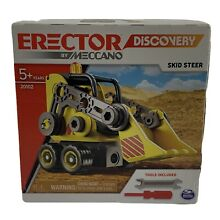 meccano steam engine disco erector by meccano skid steer