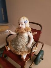 bisque doll doll miniature bambola antica