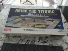 titanic 1987 raise board game by hoyle