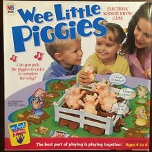 wee little piggies electronic nursery rhyme game