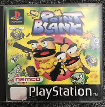 namco point blank sony playstation 1 ps1