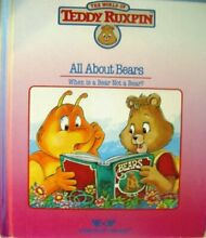 teddy ruxpin the world all about bears