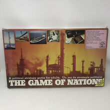 waddingtons the game nations 1973 boardgame