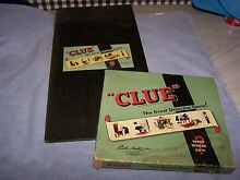 board game clue great detective game parker