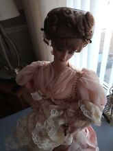 heirloom collectable franklin mint doll