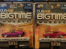 jada bigtime muscle 69 chevy chevelle ss