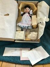heirloom franklin mint doll mary mary by