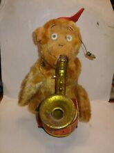 alps 1960s battery operated busy monkey