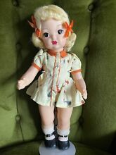 terri lee doll 1950 s chick yellow hair tagged