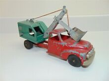 hubley toys 1956 ford 469 chassis shovel