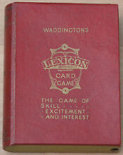 waddingtons lexicon card game never used