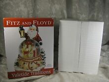 fitz floyd 2010 yuletide traditions here comes