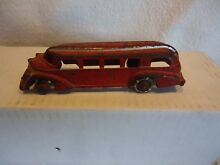 cast iron bus hubley old toy 5 1 2