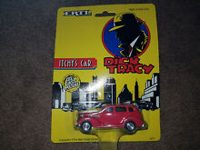 dick tracy ertl die cast itchy s car new