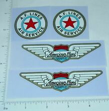 american flyer monoplane replacement stickers af