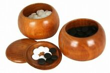 bowling game go game yunzi stones solid wood