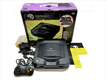 neo geo cd used console snk working boxed