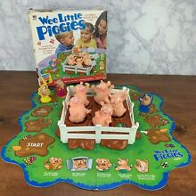 wee little piggies electronic nursery rhyme game 2001