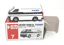 tomica nr 7 toyota hiace alsok security