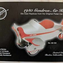 gendron 1940 air king die cast replica