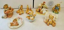 cherished teddies mixed 7 figurines read for