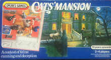 spears game cats mansion 1980s spear s board
