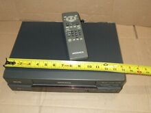 magnavox vr9341at21 vcr player vhs recorder