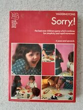 sorry game waddingtons sorry board game 1970s